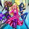 Barbie e Agentes Secretas Jogo de Vestir - Junte-se a Barbie e as agentes secretas em um novo jogo de vestir! Barbie, Teresa e Renee são muito estilosas e não podem ir a uma missão sem estarem com a roupa perfeita. Monte lindo visuais, escolhendo traje, botas, penteado e adicionar óculos, porque ninguém deve reconhecê-las.