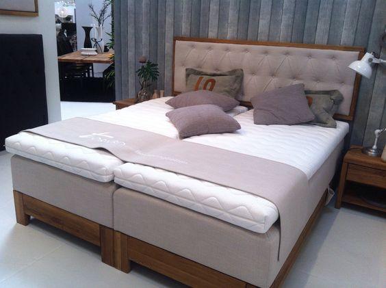 boxspringbetten von tjoernbo in perfekter qualit t mit. Black Bedroom Furniture Sets. Home Design Ideas
