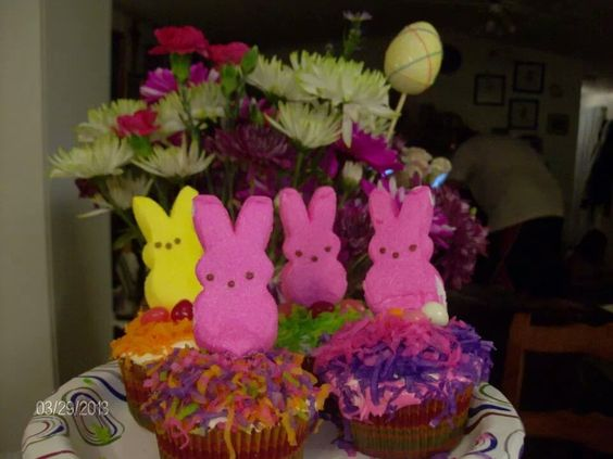 Easter fun cupcakes.