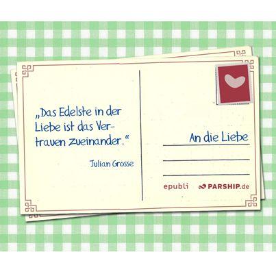 """#HappyValentinesDay """"Das Edelste in der Liebe ist das Vertrauen zueinander."""" -- Julian Grosse. Mehr Liebesgedichte auf http://www.kurze-liebesgedichte.de/."""