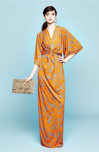 Filtre Print Kimono Maxi Dress  Nordstrom  Moroccan Madness ...