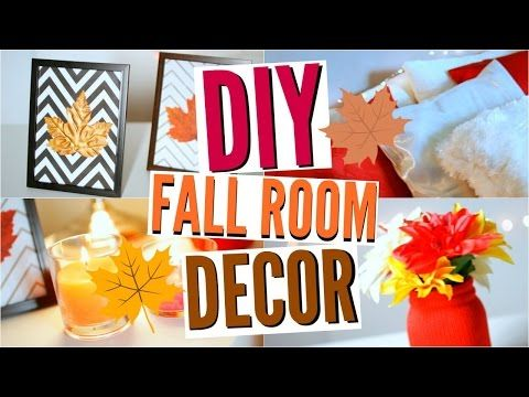 diy d co automne fall room decor tumblr inspired youtube room decor pinterest. Black Bedroom Furniture Sets. Home Design Ideas