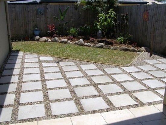 Fresh Backyard Landscaping Design Ideas On A Budget Frugal Living Patio Pavers Design Diy Concrete Patio Paver Patio