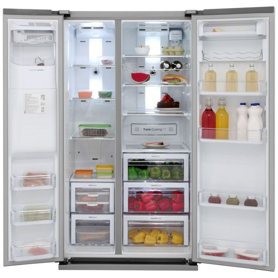 Attractive Large Capacity American Fridge Freezer Part - 8: Hisense American Fridge Freezers Are Perfect For Large Families As They  Have A Huge Capacity And Loads Of Tech To Keep Your Food Fresh. View At