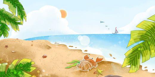 شاطئ المحيط ساحل البحر الخلفية Ocean Beach Ocean Background