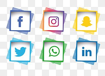 Social Media Icons Set Social Media Clipart Social Icons Media Icons Png And Vector With Transparent Background For Free Download Social Media Icons Vector Social Media Icons Logo Design Free Templates