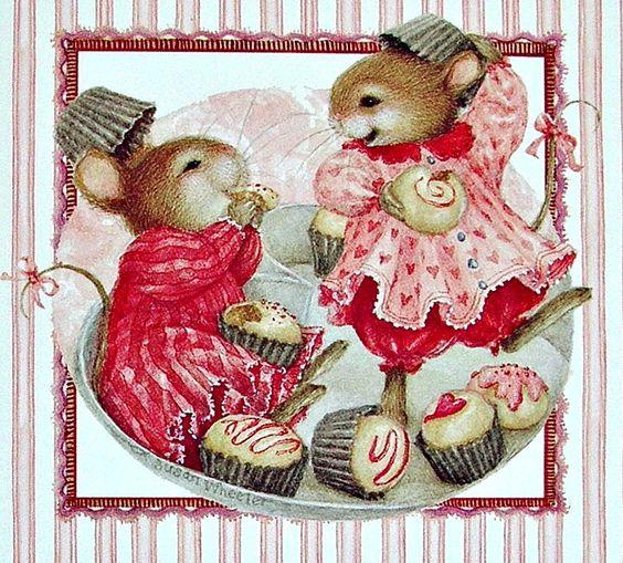 Cute mouse illustration, Susan Wheeler: