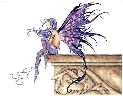 I love Amy Brown's faery artwork, this is my favourite and I want something like this incorporated into my next tattoo