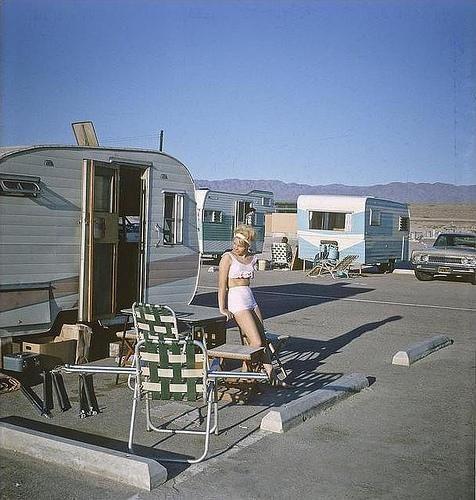 Salton Sea California 1962 C George Mann