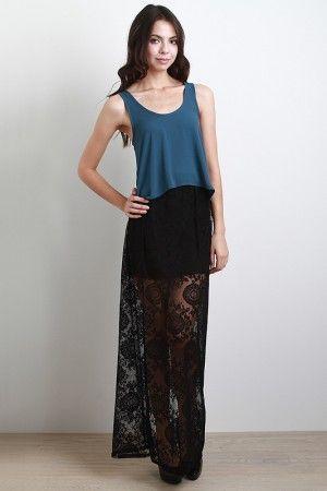 Maria Maria Maxi Skirt