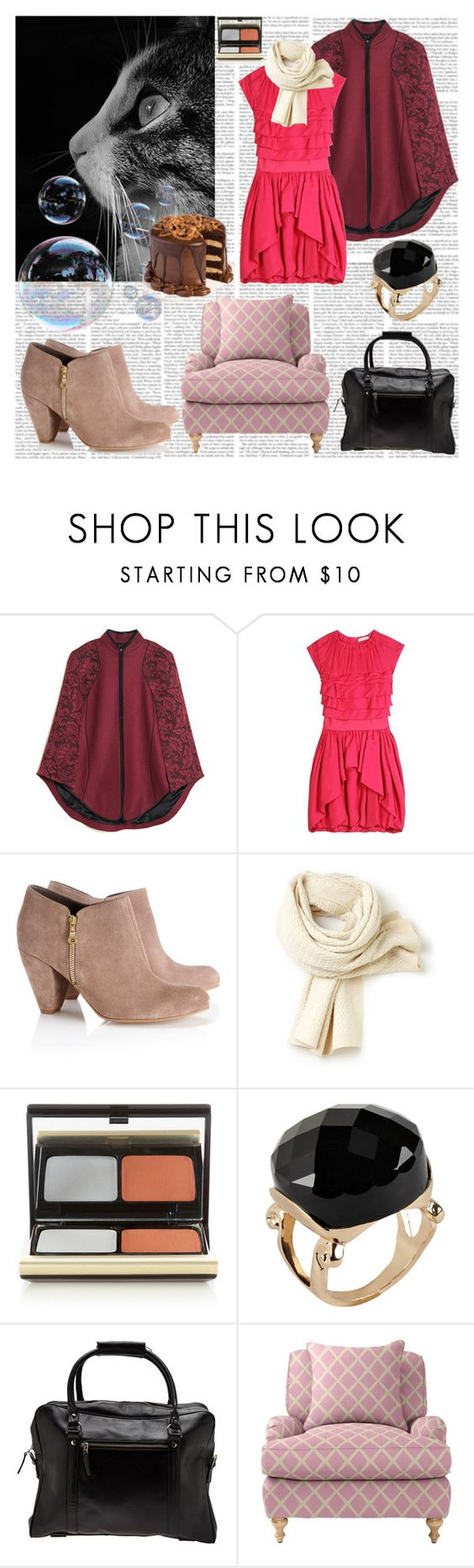 """""""Relaxing Piano Music..."""" by black-wings ❤ liked on Polyvore featuring Jason Wu, Nina Ricci, Wallis, Lacoste, Kevyn Aucoin, ALDO, Royal RepubliQ, Serena & Lily, women's clothing and women's fashion"""