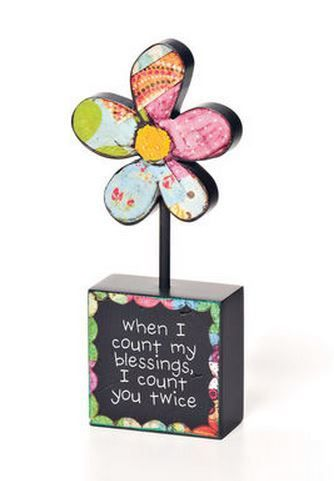 I Count You Twice Sculpture - Home decor 4 Seasons
