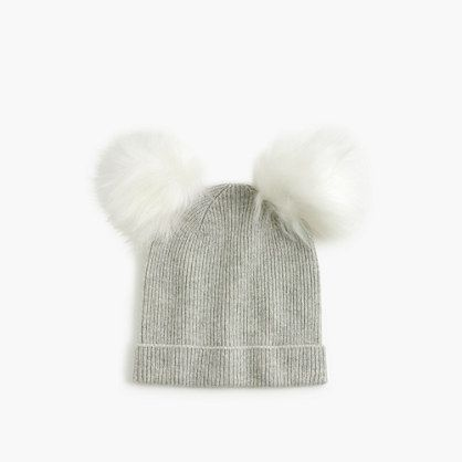 Crafted in lambswool and cashmere yarns, this hat is so soft she'll never want to take it off. <ul><li>Viscose/nylon/lambswool/cashmere.</li><li>Import.</li></ul>