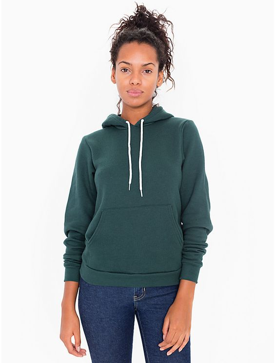 This pullover hoodie features a kangaroo pocket, drawstring hood and fitted body. Constructed from our extra soft and durable Flex Fleece.