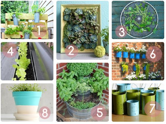Inspiration diy tutos et id es d co pour un jardin de balcon vintage blog and deco - Idee deco balcon ...