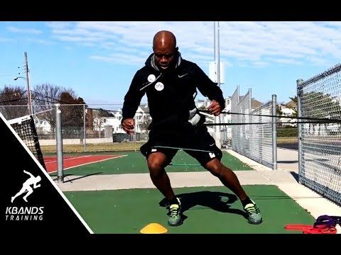 182 Tennis Drills To Increase Court Speed Tennis Leg Resistance Bands Youtube Speed Workout Tennis Drills Resistance Bands Legs