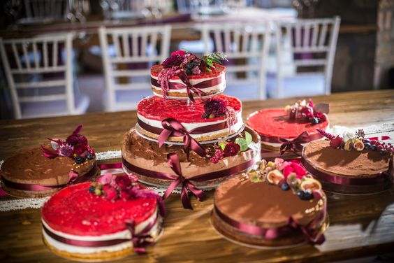wedding cake happines color love naked cake vintige cake birthday cake fruit cake with flower  raspberry chocolate