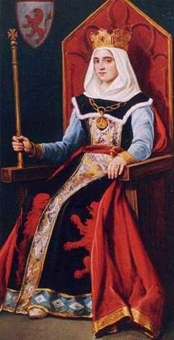 REINA URRACA (siglo 12): Condesa de Galicia, Reina de Castilla y León y de Galicia. Luchas contra la emergente burguesía gallega. Asociada al Arzobispo Xelmírez Varios matrimonios.  Madre del rey Alfonso VII de Galicia. Carácter muy difícil. Famosa también por su belleza.