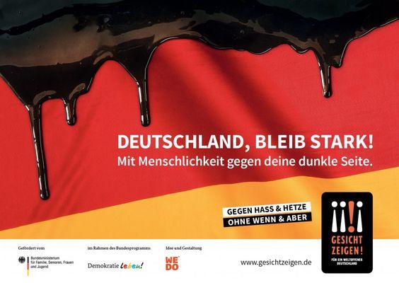 "Kampagnenmotiv ""Deutschland bleib stark!"""