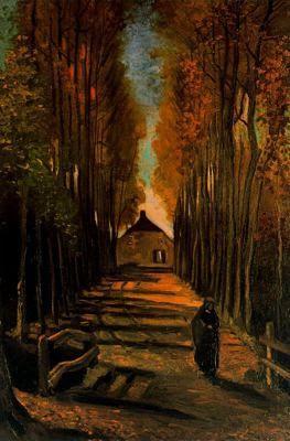Vincent Van Gogh: Alameda en Otoño, 1884.