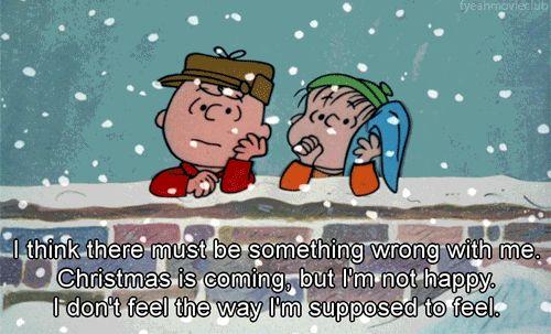 Nem todas as pessoas conseguem estar à altura das expectativas festivas do Natal.