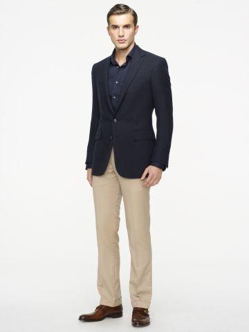 Black Sport Coat Grey Slacks No Tie | Formal gear | Pinterest