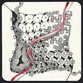 Enthusiastic Artist: Red Thread (AEDM #22)