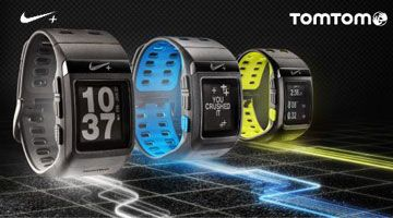 Nike+ Sport watch, TomTom