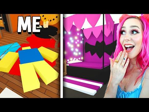 I Challenged Meganplays To Halloween Adopt Me Build Off Roblox Youtube Roblox Adoption Challenges