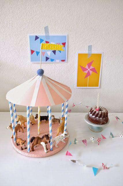 DIY: Geburtstags-Karussell