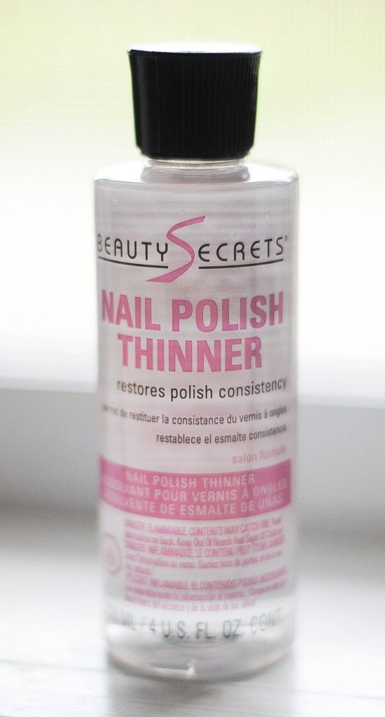 Ingredients Of Nail Polish Thinner - Creative Touch