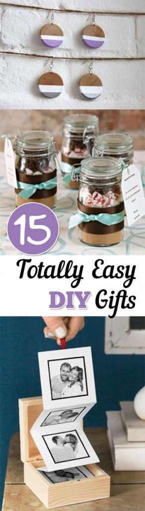 15 Totally Easy DIY Gifts
