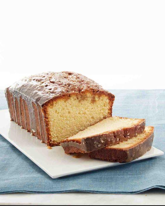 Pound Cake With Caramel Glaze Martha Stewart