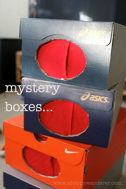 homemade mystery boxes