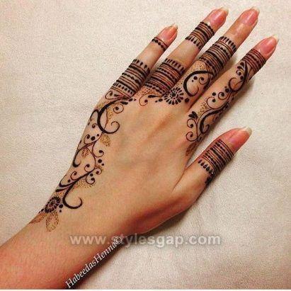 Beautiful Easy Finger Mehndi Designs 2019,2020 Styles