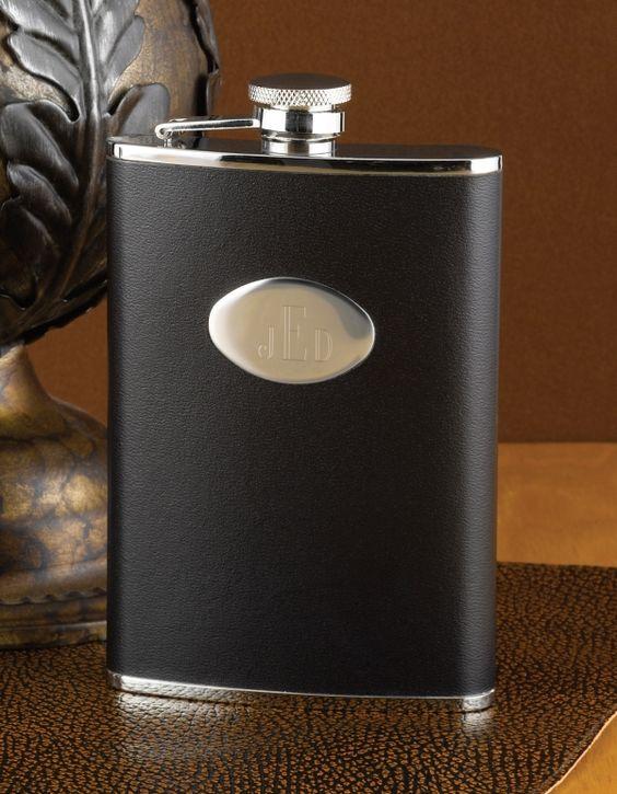 8 oz. Black Flask: $26.95
