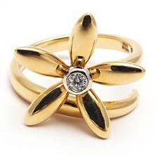 I like the shape of this one. The star/flower shape is pretty. 3.5 stars