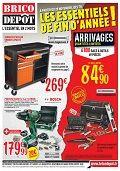 Catalogue Brico Dépôt Les essentiels de fin d'année ! du vendredi 28 novembre 2014 au mercredi 31 décembre 2014 ( 28/11/2014 - 31/12/2014 )