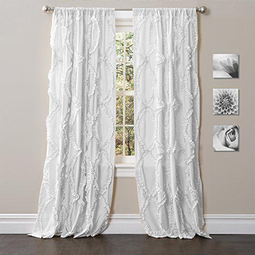 Avon White Window Panel