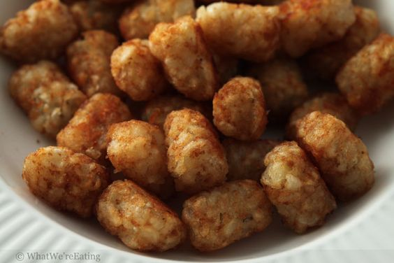 Good Old Fashioned Tater Tots... Plain and simple.