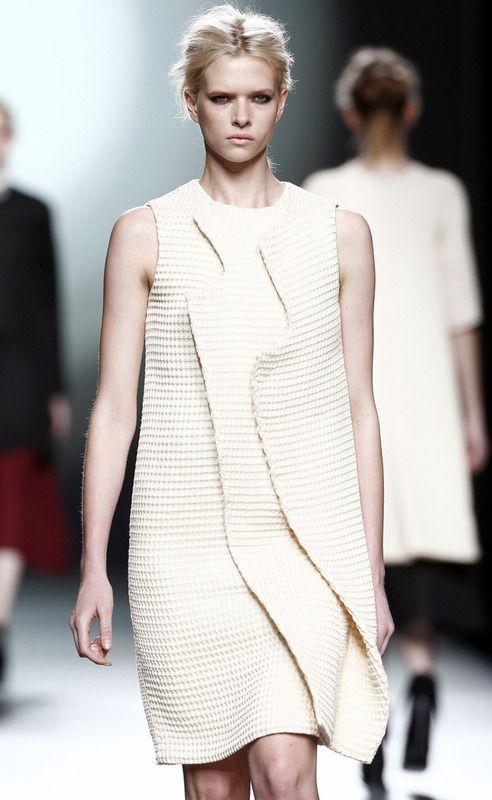 Amaya Arzuaga #MBFWM #Moda