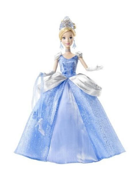 NIB  Disney Princess Cinderella Holiday Celebration Doll #Disney