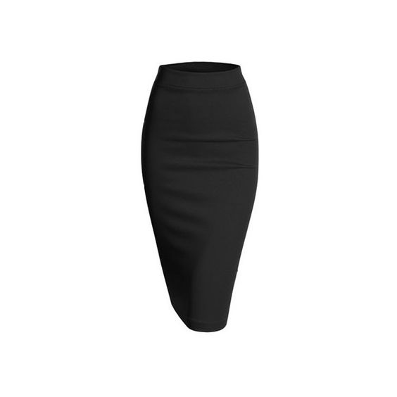 Stretch skirts, Scubas and Midi skirts on Pinterest
