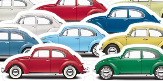 $2 VW Stickers