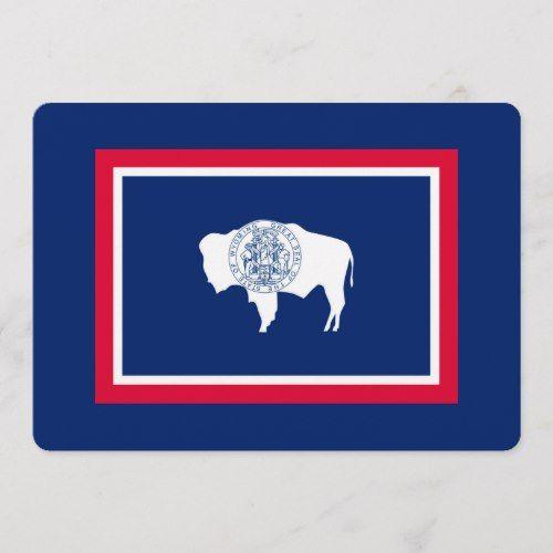 Wyoming State Flag Design Decor Zazzle Com Wyoming Flag Wyoming State State Flags