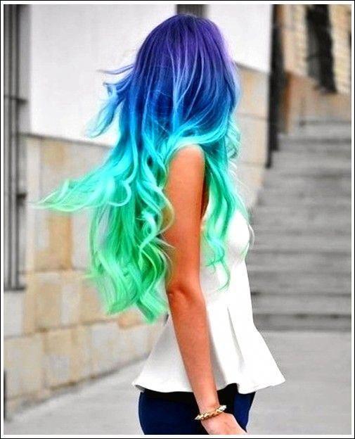 Pin By Alyssa On Hair Styles Hair Styles Blue Ombre Hair Ombre Hair