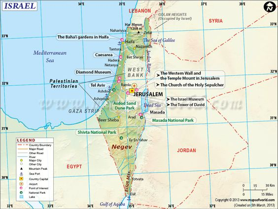 This Map Shows The Complexity Of Israels Borders With Egypt - Map of egypt israel