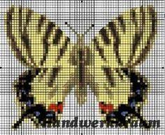 vlinders in kruissteek - Google zoeken