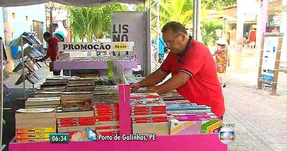 Flipo leva palestras e feira de livros para Porto de Galinhas, em PE