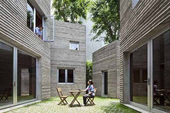 House for Trees. Vietnam. Vo Trong Nghia Architects.